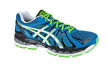 Asics Men's Gel Nimbus 15 blue/silver/green